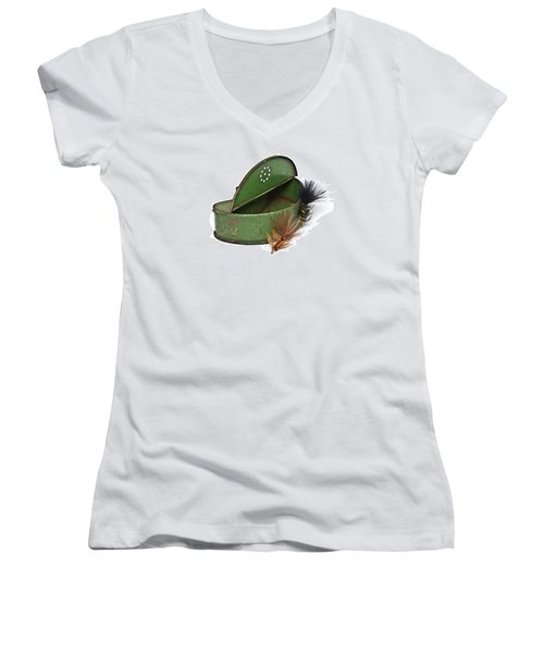 Fishing Lures Women's V-Neck T-Shirt