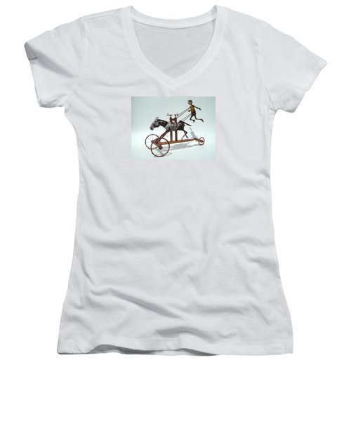 Free Unforgiven Women's V-Neck T-Shirt