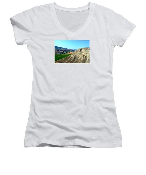 Kamloops British Columbia Women's V-Neck T-Shirt