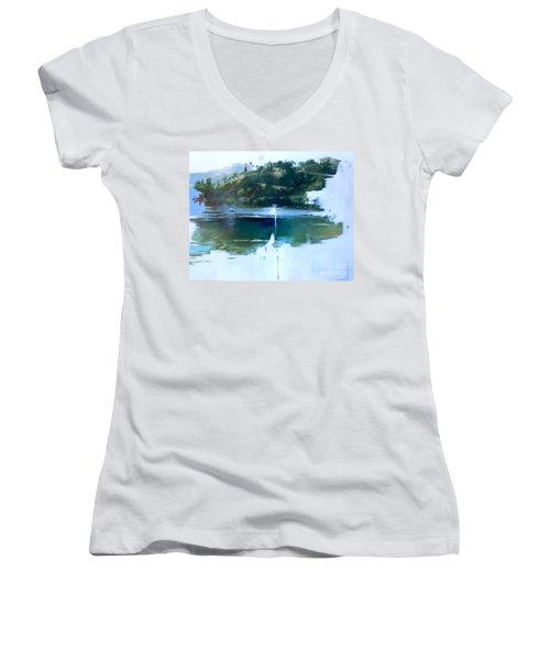La Villefranche Franche Women's V-Neck T-Shirt
