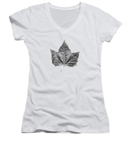 Maple Leaf Women's V-Neck