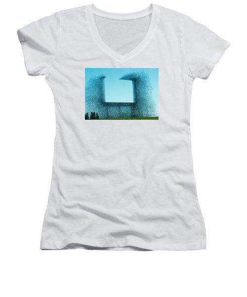 Missing Women's V-Neck T-Shirt