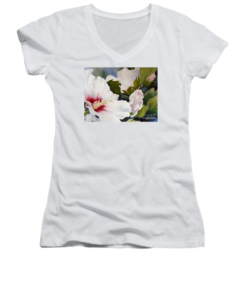 Morning Gift Sold Women's V-Neck (Athletic Fit)
