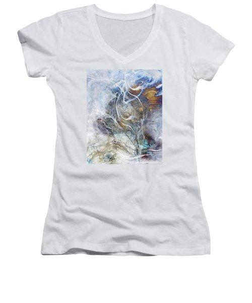 Night Blizzard Women's V-Neck T-Shirt