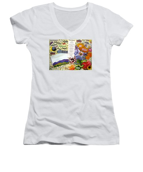 Nourishment Women's V-Neck T-Shirt