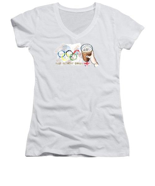 Olympic Rings Women's V-Neck