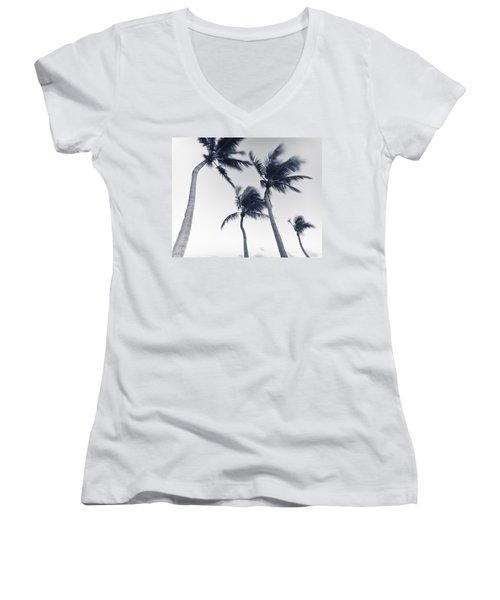 Palms 5 Women's V-Neck T-Shirt