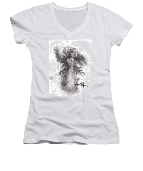 Rapture Of Peace Women's V-Neck (Athletic Fit)