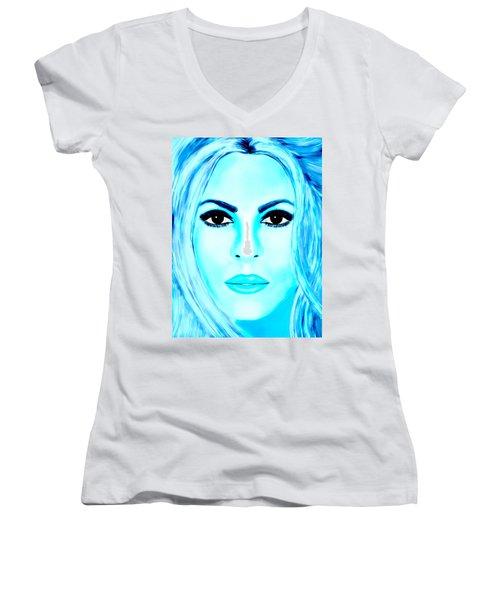 Shakira Avator Women's V-Neck T-Shirt