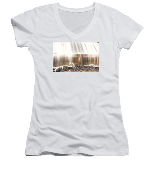 Streams Of Light Women's V-Neck T-Shirt