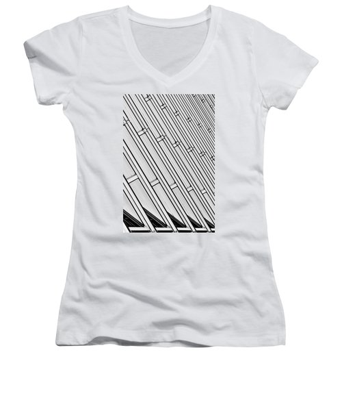 Structural Intrigue Women's V-Neck