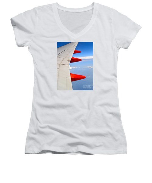 Take Flight Women's V-Neck T-Shirt