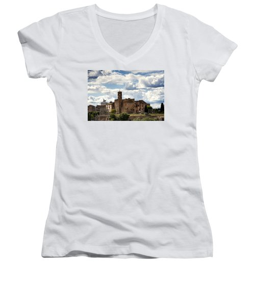 Temple Of Venus And Roma Women's V-Neck