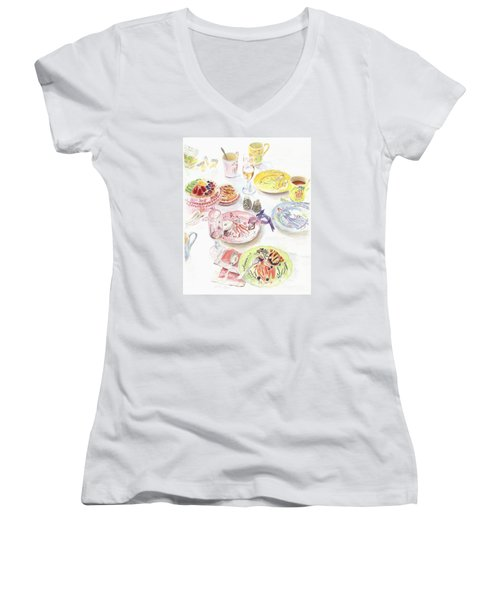 Thats Amore Women's V-Neck T-Shirt