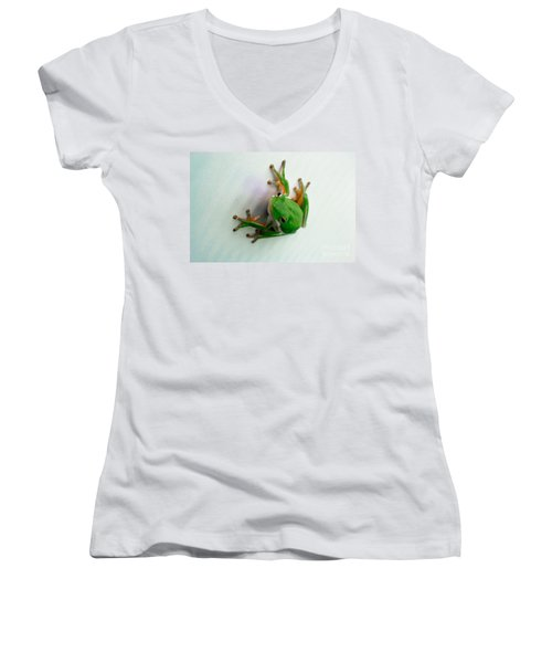 Tree Frog Women's V-Neck