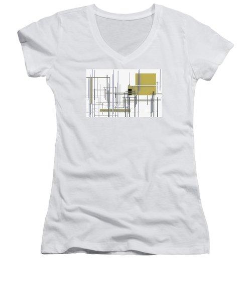 Under Construction Women's V-Neck T-Shirt