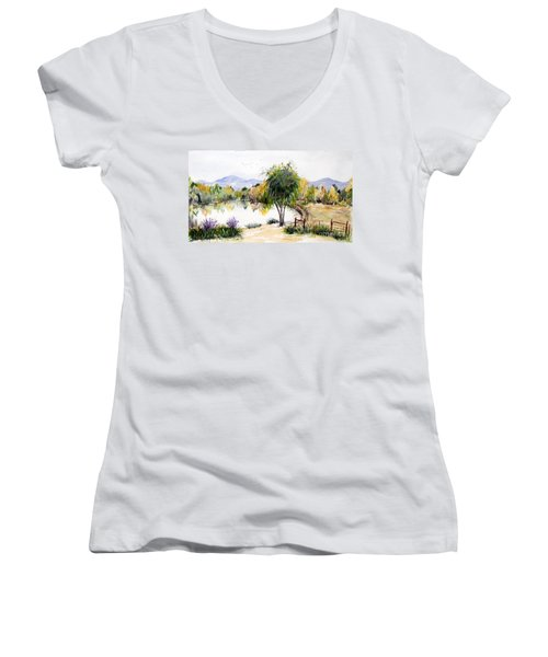 View Outside Reno Women's V-Neck (Athletic Fit)