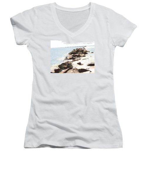 Waterway Women's V-Neck T-Shirt
