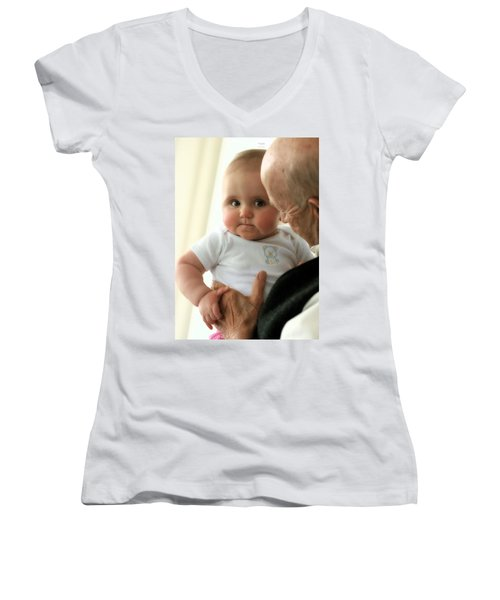 Young And Old Women's V-Neck T-Shirt