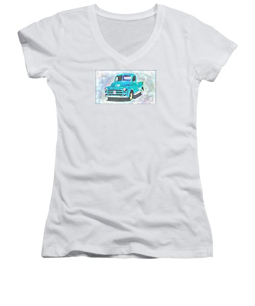 Dodge Pickup Women's V-Neck