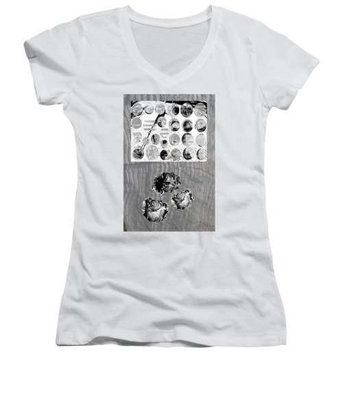 Influence On The Spiritual Atmosphere. Women's V-Neck (Athletic Fit)