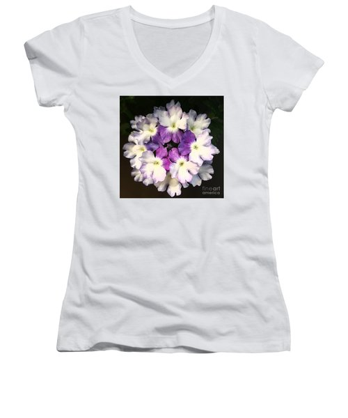 Perfect Crown Of Mother Nature Women's V-Neck T-Shirt (Junior Cut) by Jasna Gopic