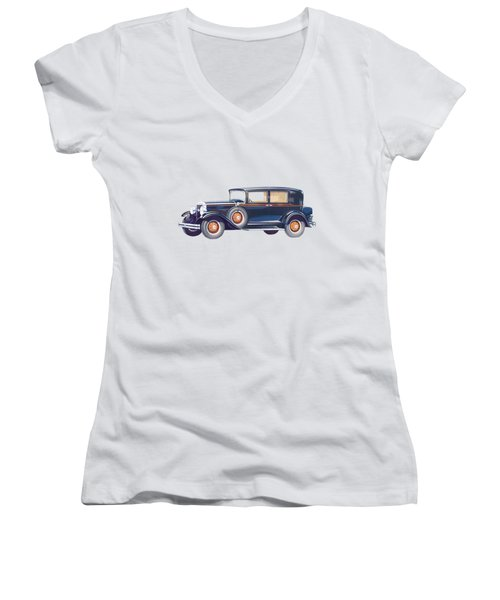 1929 Studebaker Commander Women's V-Neck