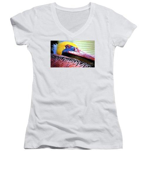 Albatross King Women's V-Neck T-Shirt
