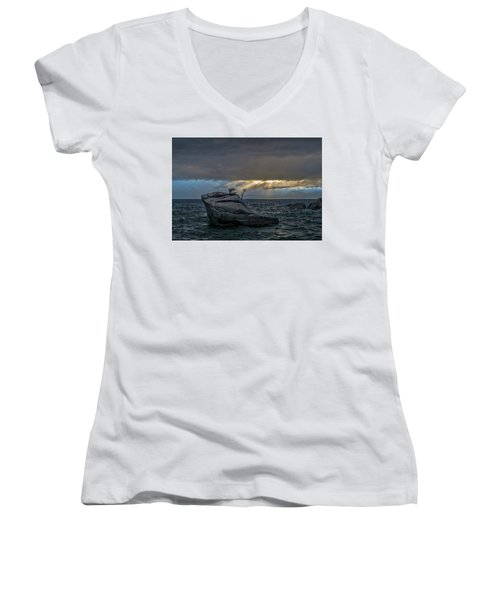 Breaking Light Women's V-Neck