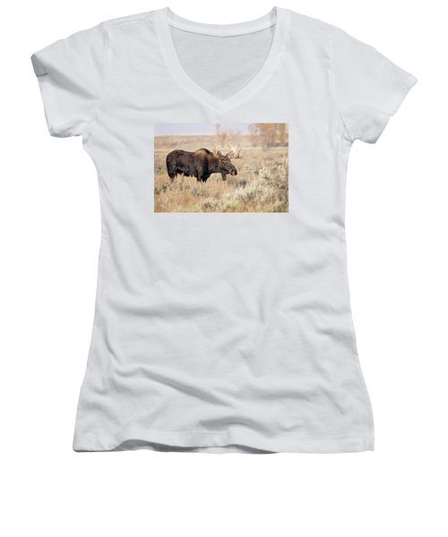 Bull Moose  Women's V-Neck