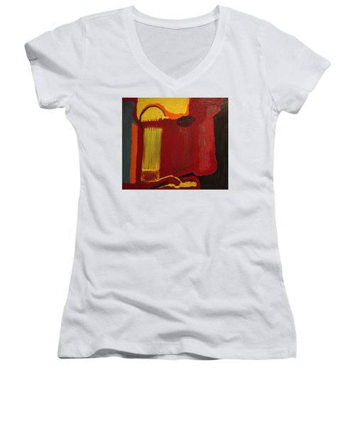 Christ's Profile Women's V-Neck