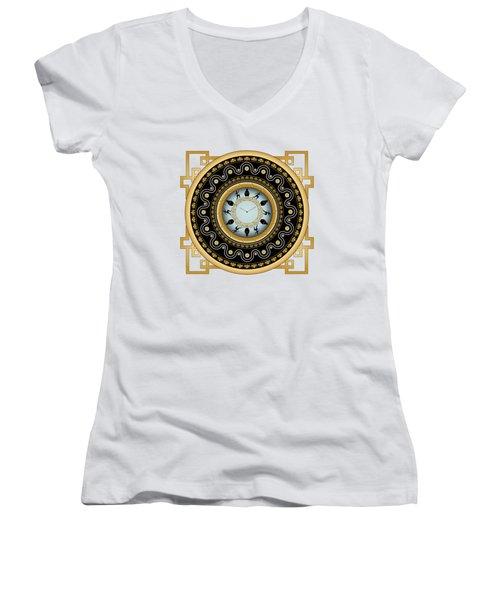 Circularium No 2653 Women's V-Neck T-Shirt
