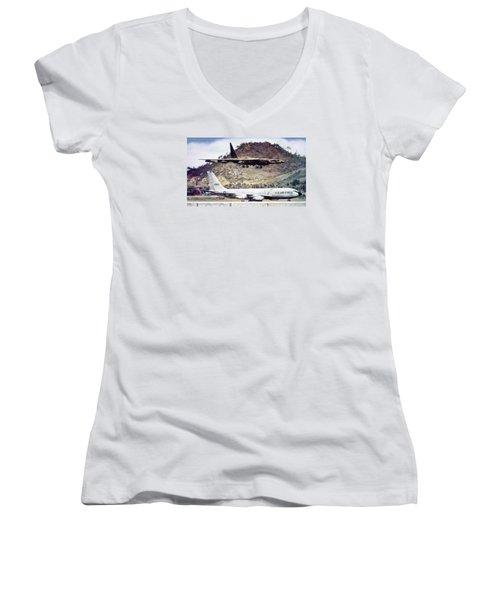 Coming Home  Women's V-Neck T-Shirt