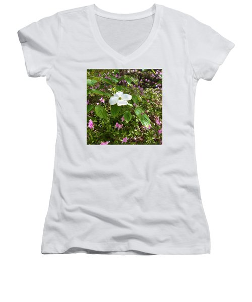 Dogwood Women's V-Neck T-Shirt