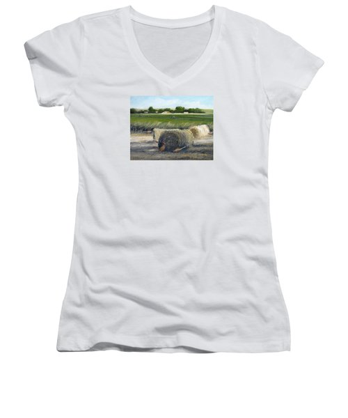 Farmland Women's V-Neck T-Shirt
