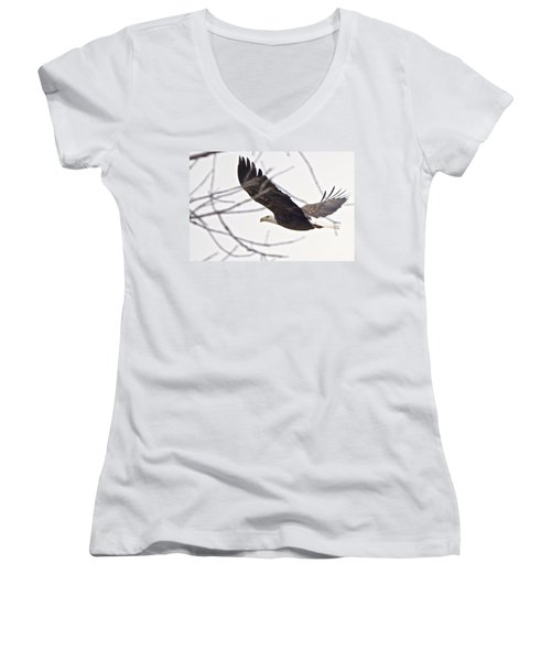 Fly By Women's V-Neck (Athletic Fit)