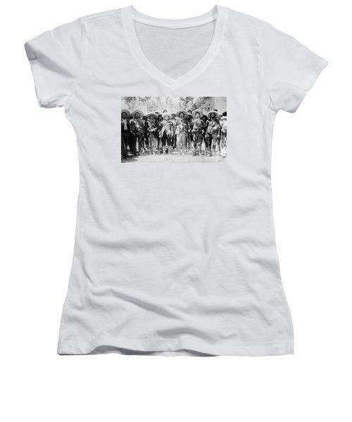 Francisco Pancho Villa Women's V-Neck T-Shirt