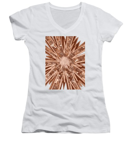 Goodluck Star Sparkles Obtained In Meditative Process Navinjoshi Artist Fineartamerica Pixels Women's V-Neck (Athletic Fit)