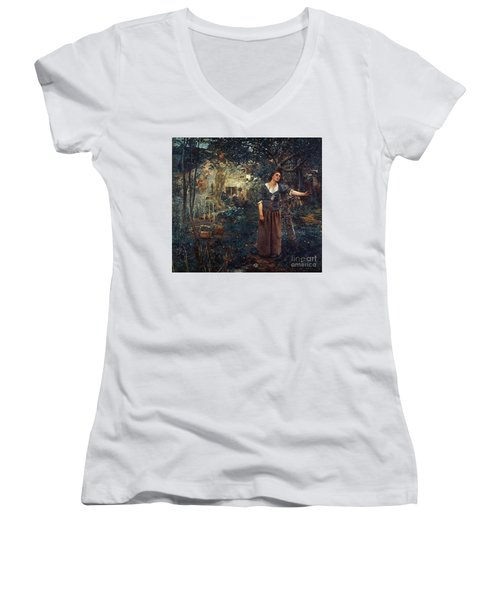 Joan Of Arc C1412-1431 Women's V-Neck