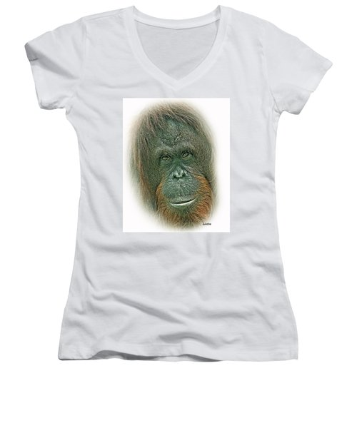 Lady Of The Forest Women's V-Neck T-Shirt