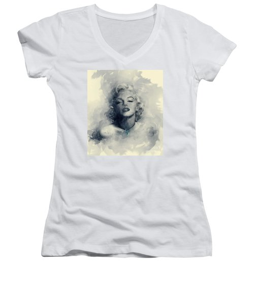 Marilyn  Women's V-Neck (Athletic Fit)