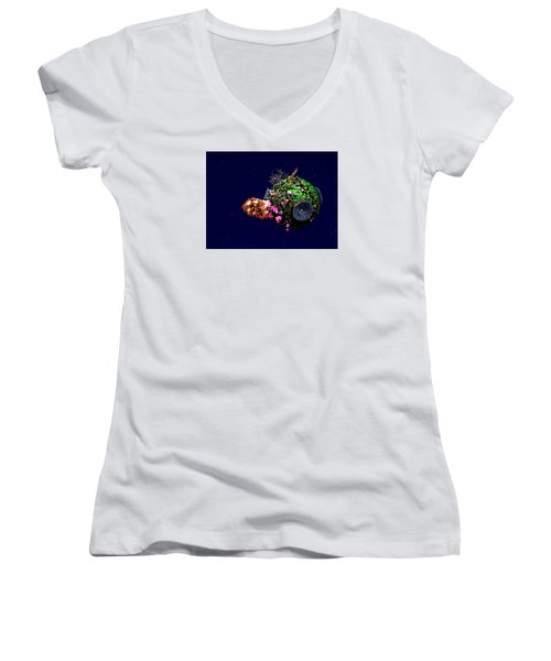 New Life 2 Women's V-Neck (Athletic Fit)
