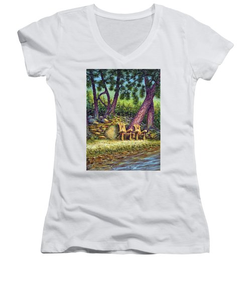 Next To Me Women's V-Neck T-Shirt