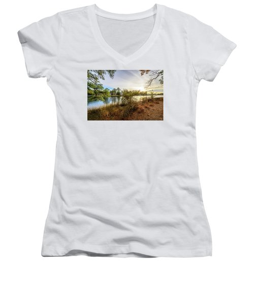 Over The River Women's V-Neck