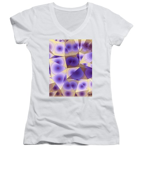 Passion Fruits Women's V-Neck (Athletic Fit)