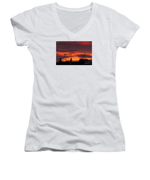 Sailors Delight Women's V-Neck T-Shirt