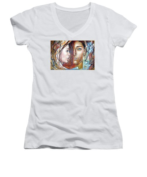 She Loves Me 140709 Women's V-Neck