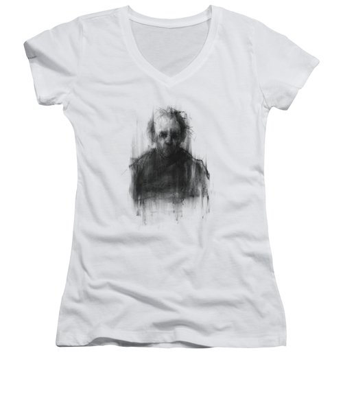 Simple Man Women's V-Neck T-Shirt (Junior Cut)