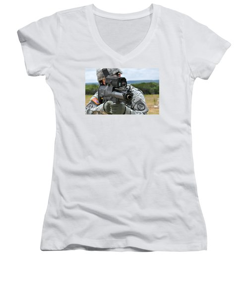 Soldier Women's V-Neck