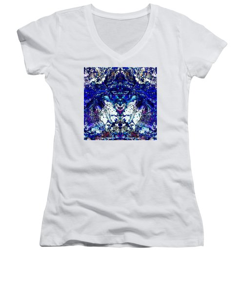 Space Harmonizer Women's V-Neck T-Shirt